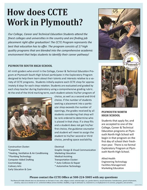 How does CCTE Work in Plymouth?