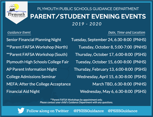 PPS Guidance Events 2019-2020