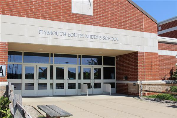 Plymouth South Middle School Entrance