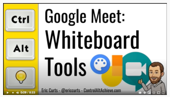 Google Meet Whiteboard Tools Video
