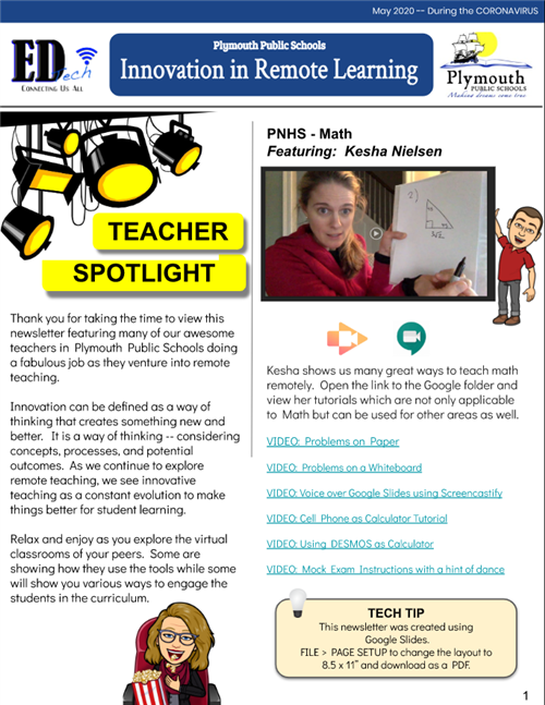 Teacher Spotlight News